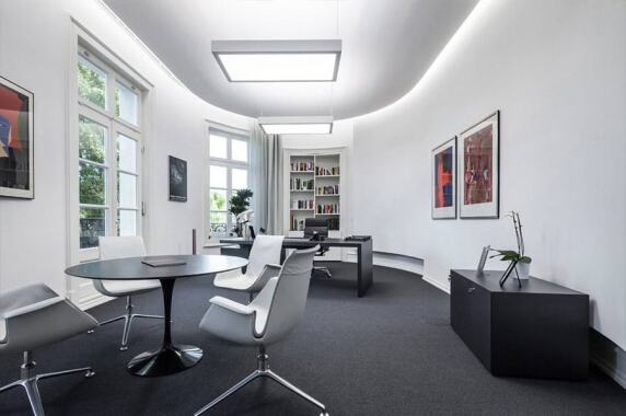 Büro & Verwaltung: Headquarter SGL Carbon SE, Wiesbaden (LEDinside.net), Foto: Peter Wolf