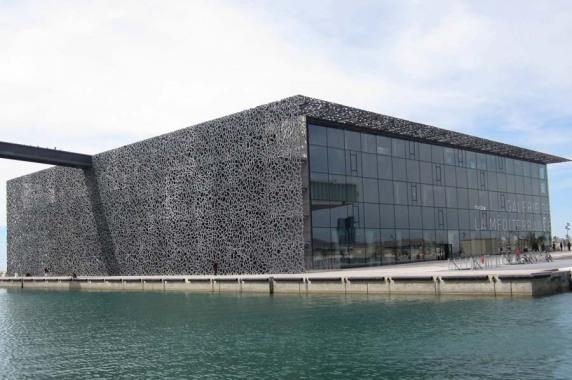 Internationales Projekt: Musée de Civilisations de l'Europe et de la Méditerranée (Mucem), Marseille (Licht Kunst Licht AG), Foto: Studio Adeline Rispal Photo Luc Boegly