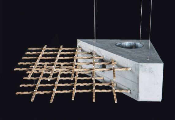 "Future Cities Laboratory / ETH Zürich mit  ""Bamboo Reinforced Concrete"" © Dirk E. Hebel, ETH Zürich"