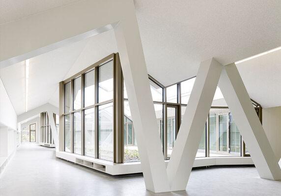Baumberger & Stegmeier Architekten, Projekt: Primarschulzentrum Laufen