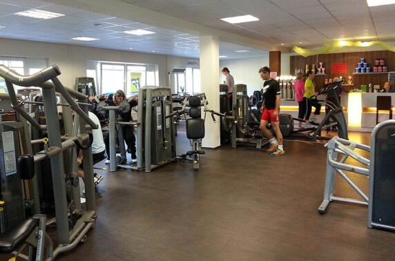 Nadura-Test in einem Fitness-Studio