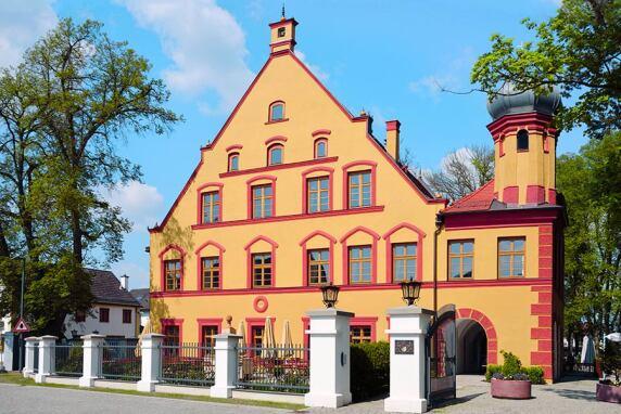 Silber: Schloss Gerzen, Gerzen (Foto: BBI, Dr. Norbert Burger)