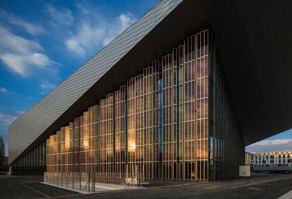 SwissTech Convention Centre, Lausanne, Richter Dahl Rocha & Associés Architectes