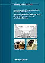 Bauteilbeschreibungen im Bauträgervertrag - Empfehlungen zur Formulierung einer Baubeschreibung.