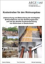 """Studie """"Kostentreiber für den Wohnungsbau"""" von 7 Bau- und Immobilienverbänden"""