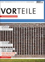 """Büro- und Gewerbebauten im Backstein-Magazin """"VORteile 02/15"""""""