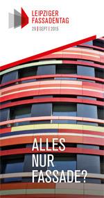 Flyer zum Ersten Leipziger Fassadentag 2015 am 29. September