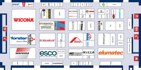 Belegungsplan der Halle C1