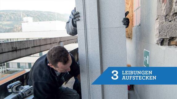 3/18 - Einbau eines Fensters mit TRAV®frame in 18 Schritten