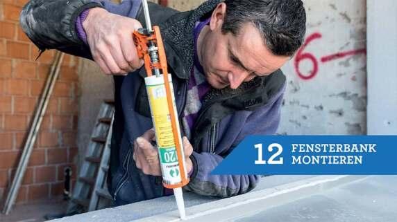 12/18 - Einbau eines Fensters mit TRAV®frame in 18 Schritten