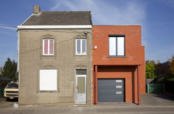 """Bildserie """"Neighbours"""" Herman van den Boom, Belgien"""