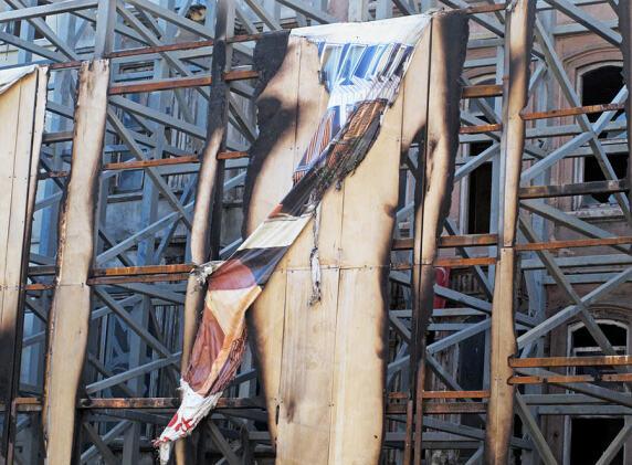 """Bildserie """"Gezi gegen Gentrifizierung"""" von Petra Gerschner"""