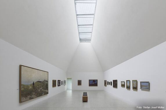 Jurypreis Tageslicht: Kunstmuseum Ahrenshoop (Licht Kunst Licht AG) Foto: Stefan Josef Müller