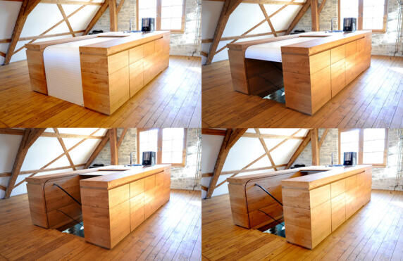 Multifunktionsmöbel von Dr. Schmitz-Riol Planungs GmbH - Foto: Dr. Erik Schmitz-Riol