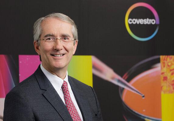 Patrick Thomas, Vorstandsvorsitzender von MaterialScience und designierter Vorstandsvorsitzender von Covestro