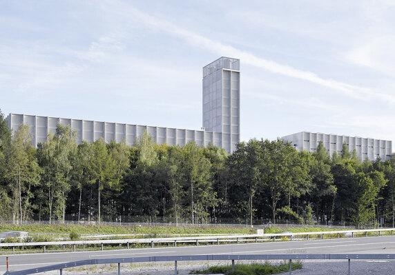 Energiezentrale Forsthaus in Bern von Graber Pulver Architekten AG <br/> Foto: Georg Aerni / Hannes Henz