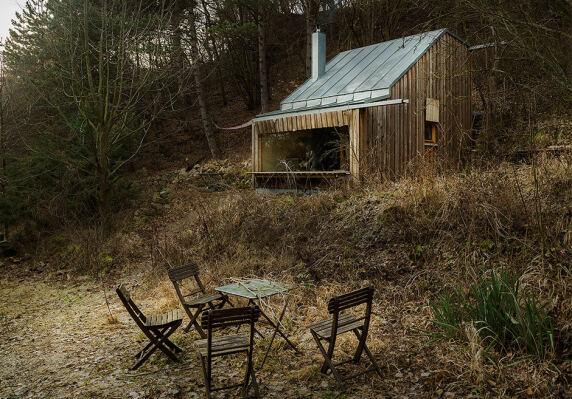 Tom's Hütte vom Raumhochrosen | Heike Schlauch und Robert Fabach <br/> Foto: Albrecht Imanuel Schnabel