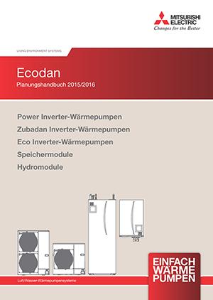 Planungshandbuch für Wärmepumpenanlagen von Mitsubishi Electric