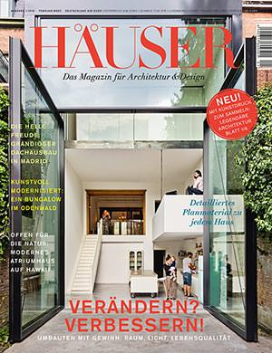 HÄUSER, das Architektur-Hochglanz-Magazin von Gruner+Jahr