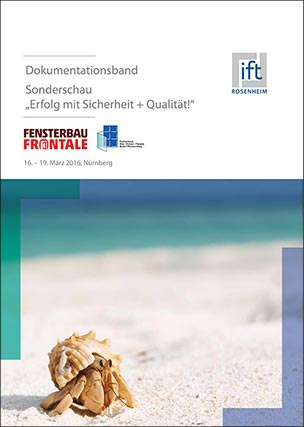 """ift-Dokumentationsband """"Erfolg mit Sicherheit+ Qualität!"""""""