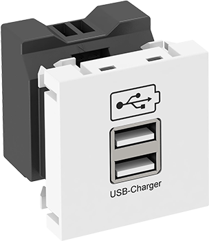 USB-Charger à la OBO Bettermann