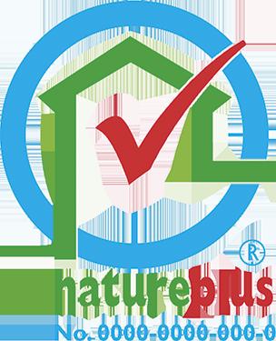 Naturplus-Logo mit Prüfnummer