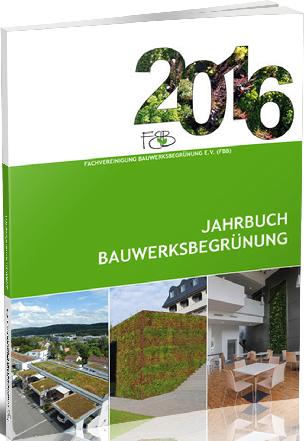 Jahrbuch Bauwerksbegrünung 2016