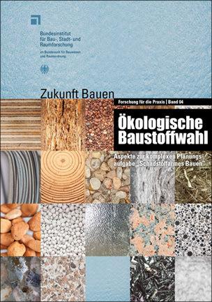 """Broschüre """"Ökologische Baustoffwahl"""""""