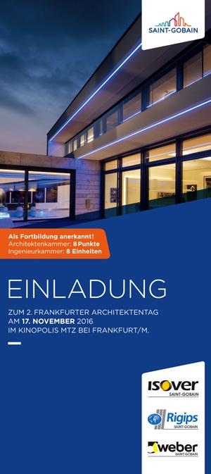 2. Frankfurter Architektentag