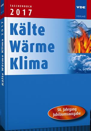 Taschenbuch Kälte Wärme Klima 2017