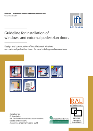 Guideline for installation of windows and external pedestrian doors