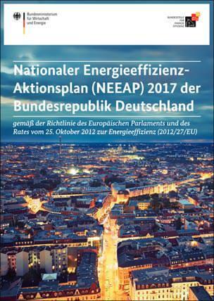 Nationaler Energieeffizienz-Aktionsplan (NEEAP) 2017 der Bundesrepublik Deutschland